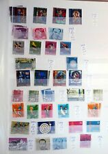 75  timbres SUISSE  - SWISS  stamps - SWITZERLAND  OBLITERE   88M42
