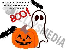 HALLOWEEN SOUNDS EFFECTS CD - SPOOKY*HORROR*CREEPY*TRICK OR TREAT* BOO/KIDS