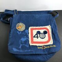Walt Disney World Magic Kingdom 40th Anniversary Mickey Mouse Messenger Bag