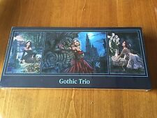 Gothic Triptych Trio Jigsaw Puzzle - New & Sealed 1 x 1000 2 x 500 pieces