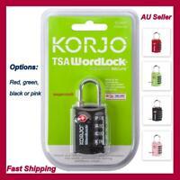 TSA Approved Combination Lock PadLock Locker Locks Security Suitcase Luggage Bag