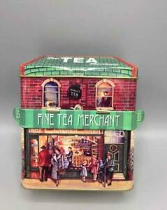 Tin Bread Box Storage Box House With Canopy Tea New
