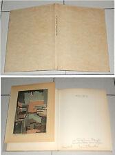 MIMI' QUILICI BUZZACCHI Paesaggi come vita 1966 Litografia autografo numerata