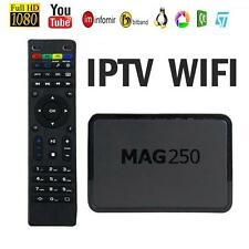 MAG250 HDMI IPTV HDTV 1080P Internet TV Set-top Box MEDIA PLAYER Streamer PC USB