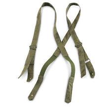Genuine French Army braces suspenders. France legion trousers pants braces