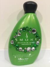 Supre Tan SMOKE PLATINUM HEMP BRONZER STREAK FREE Indoor Tan Tanning Bed Lotion