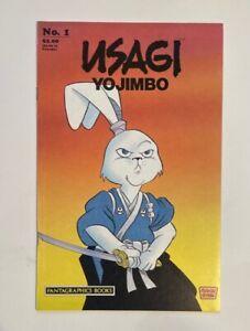 Usagi Yojimbo 1 Very Fine 8.0 VF 1987 Usagi Yojimbo Key Copper Age 1st Own Book