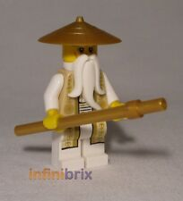 Lego Sensei Wu (Gold Outfit) from set 70751 Temple of Airjitzu Ninjago njo168