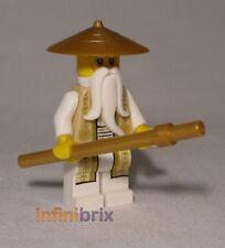 Lego Sensei Wu (Gold Outfit) from set 70751 Temple of Airjitzu Ninjago njo168