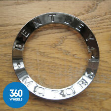 1 x  New Genuine Bentley Continental GT GTC Spur Chrome Ring 3W0601165