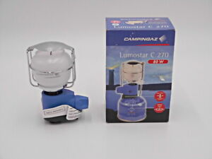 CAMPINGAZ LUMOSTAR C 270 80W Easy Click, Camping Lampe kompakt für Butan Gas