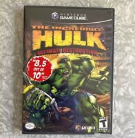 Incredible Hulk Ultimate Destruction Nintendo Gamecube Complete w/ Manual TESTED