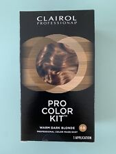 Clairol Professional Pro Color Kit Hair Color Warm Dark Blonde 6B - Ships Free