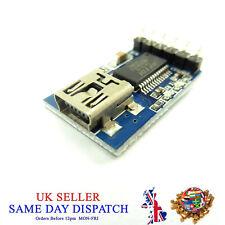 Mini USB to TTL FT232 3.3V 5V Serial Adapter Module MWC FTDI Converter Port