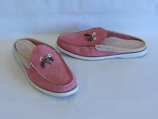 Sperry Top-Sider Medium/Pale Pink Leather Suede Slides/Loafers - 8M – GR8!