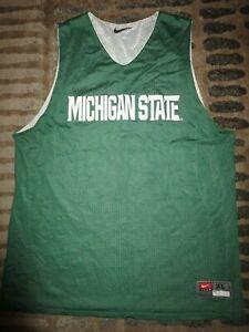 Michigan State Spartans Basketball Team Practice Nike Jersey XL mens MSU