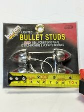 Vintage Nos Barjan Bullet Stud Lights 4pk Chrome 48-5053R Custom Chopper