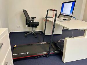 Treadmill Laufband elektrisch klappbar gebraucht SportstechDESKFIT DFT100 Büro
