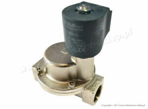 """Solenoid valve CEME 9015, Normally Closed, 3/4"""", water air steam light oils PTFE"""