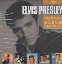 Elvis Preseley / Loving You, Elvis is Back!, GI Blues, Elvis u.a. (5 CDs,OVP)