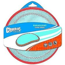 Chuckit Flying Disc Heli Frisbee Floating Fetch Dog Toy - Paraflight Large