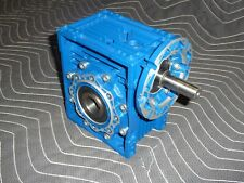 "Motovario Gear Box Speed Reducer NRV 063, 30:1, 1.125""""d Output Bore"