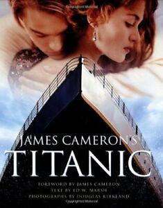 James Cameron's Titanic by Ed W Marsh Hardback Book The Fast Free Shipping
