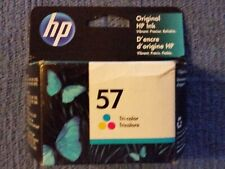 HP 57 Tri-Color Ink Cartridge C6657AN New in Box AUG 2022