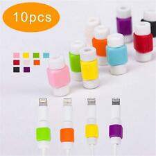10 Lightning Charger Cable Saver Protector for Apple iPhone Protect Accessory DC