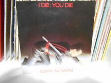 """GARY NUMAN """" I DIE:YOU DIE"""" 7"""" BEG. 46"""