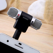 Quality 1pc Mini Stereo Microphone Mic 3.5mm Mini Jack PC Laptop Notebook TOP V6