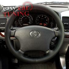Pour Toyota Land Cruiser 80 1989-1997 noir Cuir véritable Couverture volant