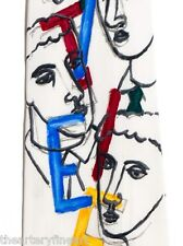 SANDRO CHIA 'Tie', 2000 Neck-Tie SIGNED Limited Edition #19/300 100% Silk *NEW*