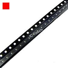 100pcs RED SMD SMT LED 0402 Superbright Red LEDs lamp light
