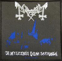 MAYHEM AUFNÄHER / PATCH # 6 DE MYSTERIIS DOM SATHANAS - 10x10cm