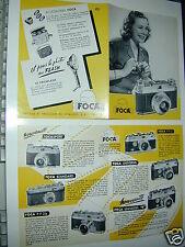 FOCA  publicité d'époque 16x24 cm photo photographie