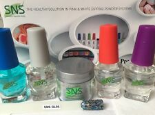 SNS Kit: GL05 GLITTER COLLECTION  Prebonded with Liquids-Signature Nail System