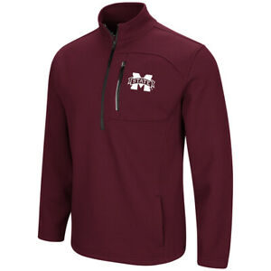 Mississippi State Bulldogs Colosseum Townie 1/2 Zip Pullover Jacket
