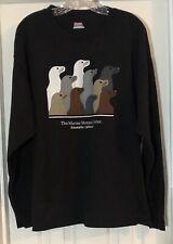 Marine Mammal Center T-shirt Sausalito, California Size Xl Long Sleeve Black