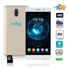 Android 7.0 Unlocked 4G LTE SmartPhone by Indigi (OctaCore + 2GB RAM + 13MP Cam)