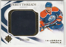 2010 10-11 Ultimate Collection Debut Threads #DTJE Jordan Eberle 16/200 RC-year