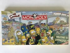 SIMPSONS MONOPOLY 2001 USOPOLY SEALED BOARD GAME