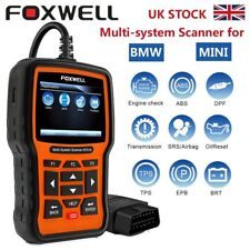 ABS ,Airbag,DPF Diagnostic Tool OBD2 Scanner Car Code Reader For BMW/MINI UK
