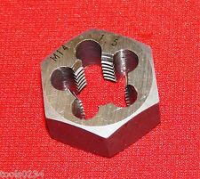 "High Quality M14 X 1.5 Metric 1-7/16"" Hex  Rethread Die 14MM Carbon Steel RH"