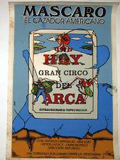 """1993 Original Cuban Movie Poster.Plakat.Affiche.affisch""""American Hunter"""" RARE!"""