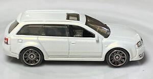 Matchbox 2004 Audi RS 6 Avant White 1/64 Diecast Loose Wagon