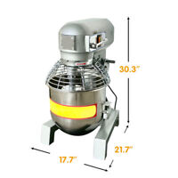 110V Three Speed 30Qt Commercial Cream Egg Dough Food Mixer Raw Material Mix