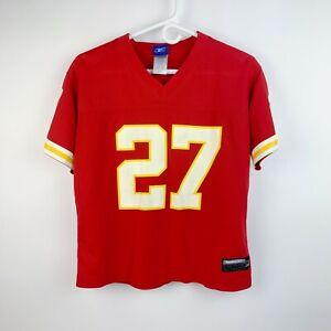 Reebok NFL Players KC Kansas City Chiefs Larry Johnson #27 Jersey Womens Medium