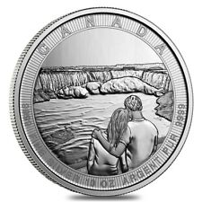 2017 10 oz Silver Canada the Great CTG Niagara Falls $50 Coin