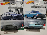 "2021 Hot Wheels ""Fast Wagons"" 1964 Chevy Nova Panel & '17 AUDI RS 6 AVANT"